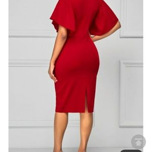dcaa1a822e3 rosewe Dresses - Rosewe Red dress